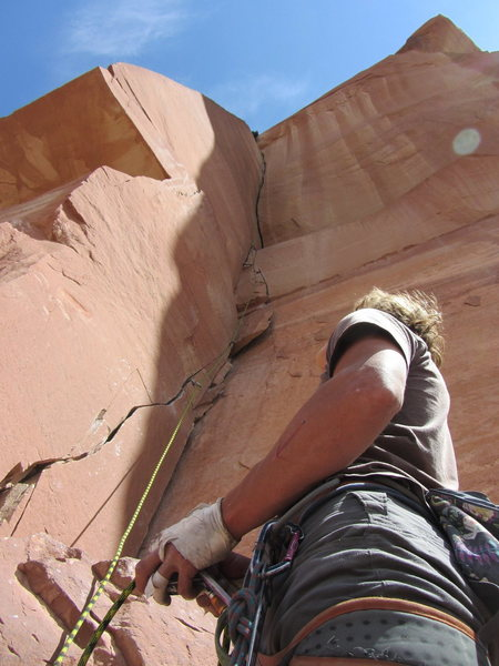 Rock Climbing Photo: Robbie w/ the trusty catch
