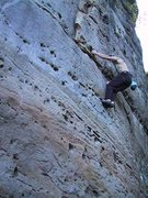 Fun pockets on SAVE THE CRUX FOR LAST, Most High Boulder