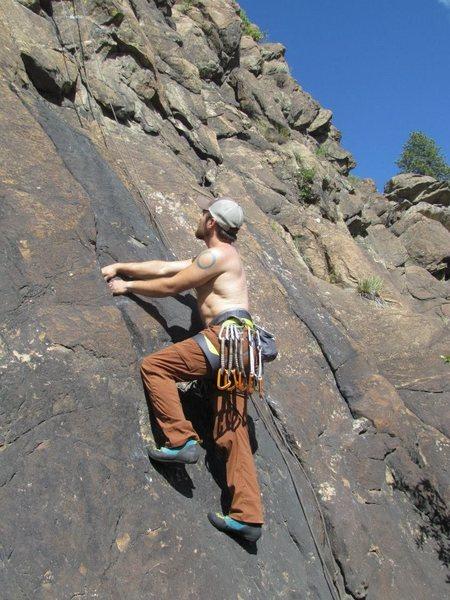 Rock Climbing Photo: Buena Vista, CO