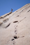 Rock Climbing Photo: At the Summit of Vasquez Rocks with Joshua on my b...
