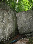 Rock Climbing Photo: Chimera's chimney