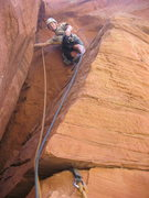Rock Climbing Photo: The second pitch is as clean as the first, but has...