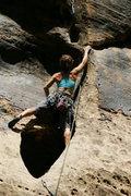 Rock Climbing Photo: Aqua-Vulva, Winslow Wall, AZ