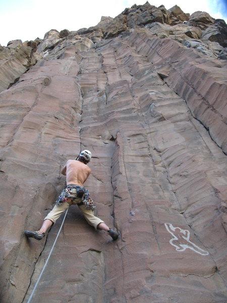 Rock Climbing Photo: morning star