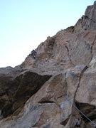 Rock Climbing Photo: entering relativity
