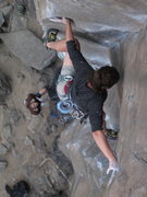 Rock Climbing Photo: stemming queen