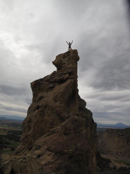 Rock Climbing Photo: wahoo!