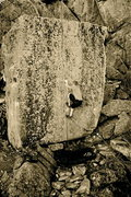 Rock Climbing Photo: Breashear's Crack II V3