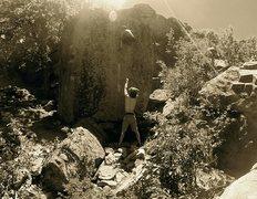 Rock Climbing Photo: Breashear's Crack II.  -Joe Haught
