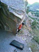Rock Climbing Photo: Squirming Coil.  -Joe Haught.