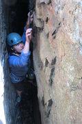 Rock Climbing Photo: lila