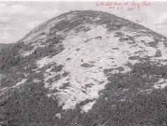 Rock Climbing Photo: Topo of climb