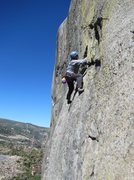 Rock Climbing Photo: Bob  on the traverse