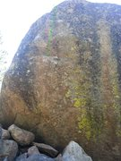 Rock Climbing Photo: The green line is just a general indication. Good ...