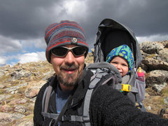 Rock Climbing Photo: Maya's first trip to RMNP.