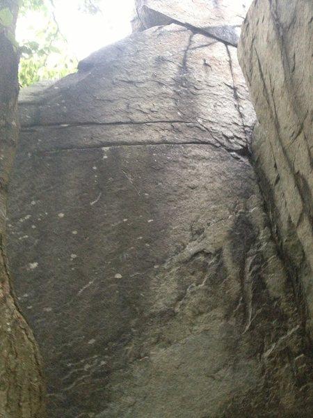 Rock Climbing Photo: (Lower) Black Wall.