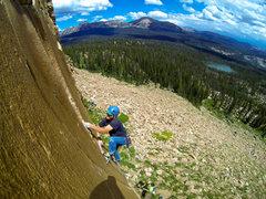 Rock Climbing Photo: shield