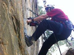 Rock Climbing Photo: gettin it done