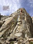 Rock Climbing Photo: Area Topo