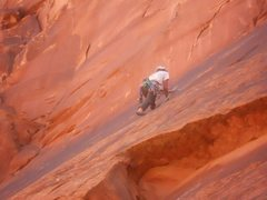 Rock Climbing Photo: Trad Climbing in Moab