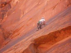 Rock Climbing Photo: Trad Climbing in Moab