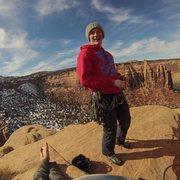 Rock Climbing Photo: Atop Independence Monument