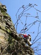 Rock Climbing Photo: Air.   Necedah, WI.