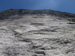 Rock Climbing Photo: I think this is the slab for John Henry.  We never...