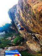 Rock Climbing Photo: Jimmy Meter sending Wisdom.