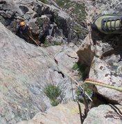 Rock Climbing Photo: P2 Lazy Sunday.
