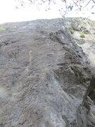 Rock Climbing Photo: The start of Papilion.