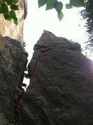 Rock Climbing Photo: This photo is actually of the pinnacle known as &q...