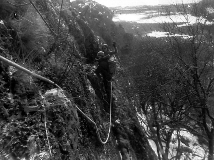 Hanging Rock girdle traverse