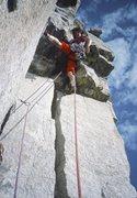 Rock Climbing Photo: Pitch 2. Fran Bagenal