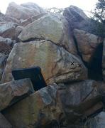 Rock Climbing Photo: Tick marks on Dam Gurl
