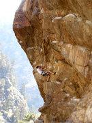 Rock Climbing Photo: Hanging Judge is great.