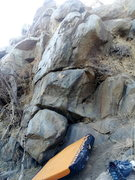 Rock Climbing Photo: The start of The Hornets Nest