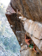 Rock Climbing Photo: The Great Escape in Clear Creek Canyon.