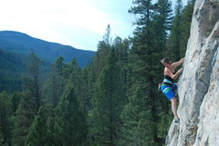 Rock Climbing Photo: Jess on Copa de Oro