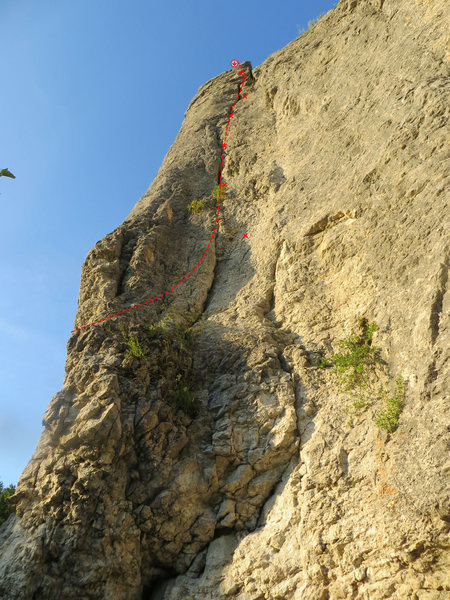 Rock Climbing Photo: Alter Weg