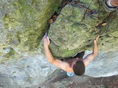 Rock Climbing Photo: ONSIGHT SPOILER Jonas flashing Dumbledore