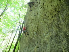 Rock Climbing Photo: Is this what it's like climbing in Colorado? There...