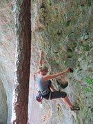 Rock Climbing Photo: Fanny at the start of Gandalf