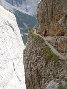 Rock Climbing Photo: Descent