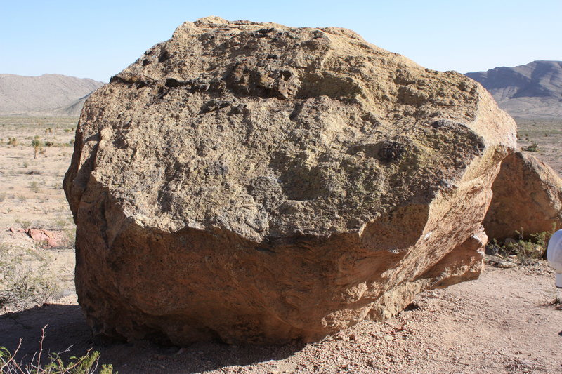 North Face of the Smith/Grandpa Smith boulder. photo credit Michael Szabo