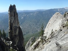 Rock Climbing Photo: The Fin and Castle Rock Spire