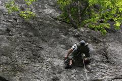 Rock Climbing Photo: Dovi Hirsch on Easily Amused