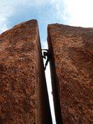 Rock Climbing Photo: Plumber's Crack