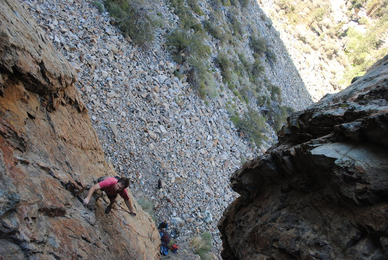Amazing photography of Jeff snagging the 2nd ascent