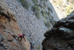 Rock Climbing Photo: Amazing photography of Jeff snagging the 2nd ascen...